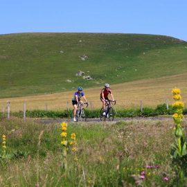 L'Auvergne en vélo
