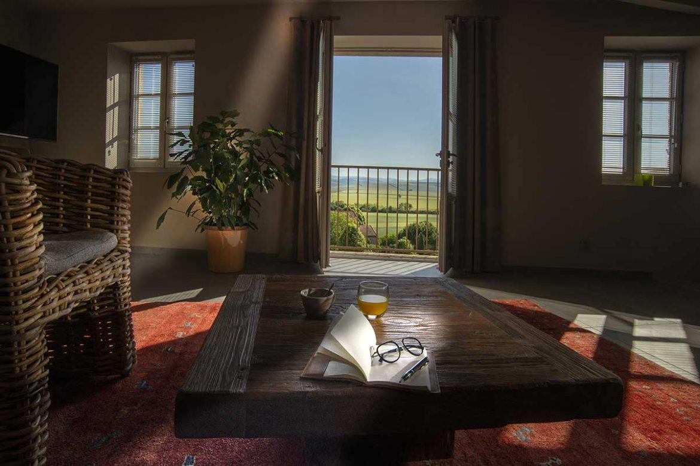 The View - Gite Mont-Dore - Le salon