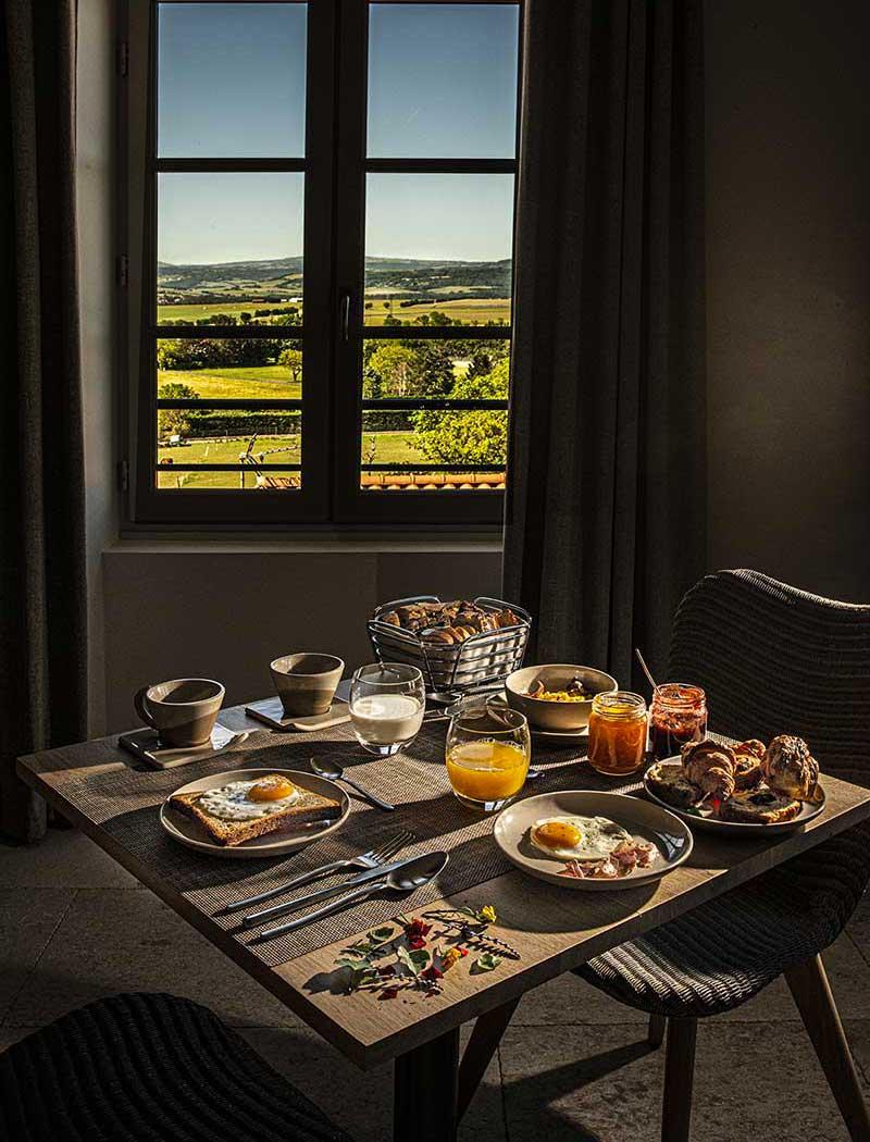 Petit-déjeuner à The View